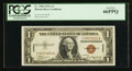 Small Size:World War II Emergency Notes, Fr. 2300 $1 1935A Hawaii Silver Certificate. Y-B Block. PCGS Gem New 66PPQ.. ...