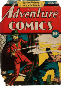 Adventure Comics #40 Cover Only (DC, 1939)