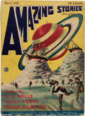 Pulps:Science Fiction, Amazing Stories V1#1 (Ziff-Davis, 1926) Condition: VG....
