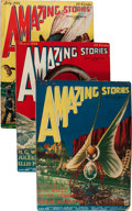 Pulps:Science Fiction, Amazing Stories Group (Ziff-Davis, 1926).... (Total: 8 Items)