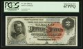 Large Size:Silver Certificates, Fr. 243 $2 1886 Silver Certificate PCGS Superb Gem New 67PPQ.. ...