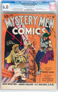 Golden Age (1938-1955):Superhero, Mystery Men Comics #5 (Fox, 1939) CGC FN 6.0 Cream to off-white pages....