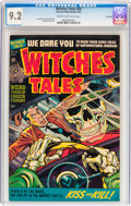 Golden Age (1938-1955):Horror, Witches Tales #20 File Copy (Harvey, 1953) CGC NM- 9.2 Cream to off-white pages....