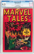 Golden Age (1938-1955):Horror, Marvel Tales #94 (Atlas, 1949) CGC VG+ 4.5 Cream to off-whitepages....