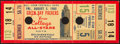 Football Collectibles:Tickets, 1966 Green Bay Packers Vs. College All Stars Full Ticket - Packers Win 28-0....