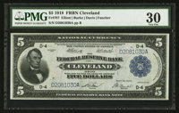 Fr. 787 $5 1918 Federal Reserve Bank Note PMG Very Fine 30