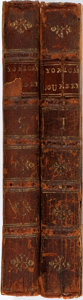 Books:Travels & Voyages, [Laurence Sterne]. A Sentimental Journey through France and Italy. By Mr. Yorick. London: T. Becket, et al, 1768. Se... (Total: 2 Items)