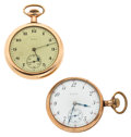 Timepieces:Pocket (post 1900), Two Elgin Gold Filled 16 Size Pocket Watches Runners. ... (Total: 2Pieces)