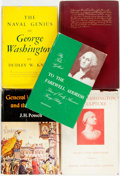 Books:Biography & Memoir, [George Washington]. Group of Five Books about George Washington.Various publishers and dates. Original cloth bindings; fou...(Total: 5 Items)