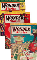 Pulps:Science Fiction, Wonder Stories Group (Standard, 1931-35) Condition: Average VG+.... (Total: 12 Items)