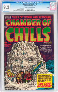 Chamber of Chills #10 File Copy (Harvey, 1952) CGC NM- 9.2 Cream to off-white pages