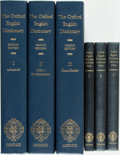 Books:Reference & Bibliography, [Dictionary]. Oxford English Dictionary. Oxford: ClarendonPress, [2004]. Second edition. Twenty quarto volumes (inc...(Total: 23 Items)
