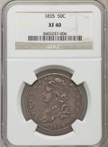Bust Half Dollars: , 1835 50C XF40 NGC. NGC Census: (50/557). PCGS Population (125/727).Mintage: 5,352,006. Numismedia Wsl. Price for problem f...
