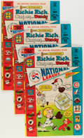 Bronze Age (1970-1979):Cartoon Character, Richie Rich, Casper and Wendy National League File Copies Long Box(Harvey, 1976) Condition: Average VF....