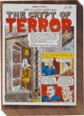"EC Crime Patrol #15 Complete First Crypt-Keeper Story ""Return From the Grave"" Silverprint Proof Group (EC, 194..."