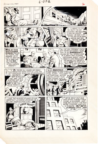 """Pete Costanza Forbidden Worlds #134 """"Chang's Going To Kill You!"""" Partial Story Original Art Group (ACG, 1966)..."""