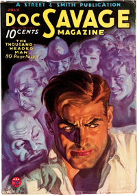 Doc Savage - July '34 (Street & Smith, 1934) Condition: FN/VF