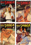 Pulps:Adventure, Doc Savage Group (Street & Smith, 1934) Condition: Average FN-.... (Total: 5 Items)
