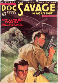 Doc Savage V1#2 Canadian Edition (Street & Smith, 1933) Condition: FN+