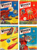 Pulps:Science Fiction, Wonder Stories Group (Standard, 1930-33) Condition: Average VG....