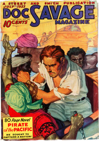 Doc Savage - July '33 (Street & Smith, 1933) Condition: FN/VF