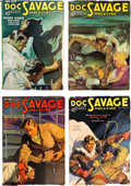 Pulps:Adventure, Doc Savage Group of 10 (Street & Smith, 1936) Condition: Average FN.... (Total: 10 Items)
