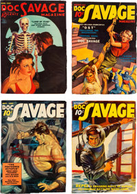 Doc Savage Group (Street & Smith, 1937) Condition: Average FN-.... (Total: 12 Items)