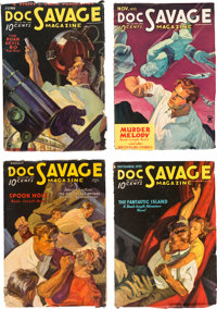 Doc Savage Group (Street & Smith, 1935) Condition: Average FN-.... (Total: 11 Items)