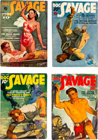 Doc Savage Group of 25 (Street & Smith, 1938-49) Condition: Average FN.... (Total: 25 Items)