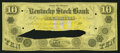 Obsoletes By State:Indiana, Columbus, IN- Kentucky Stock Bank $10 18__ G10c Wolka 128-6 Proof. ...