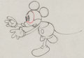 Animation Art:Production Drawing, Giantland Mickey Mouse Production Drawing Animation Art(Disney, 1933)....