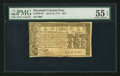 Colonial Notes:Maryland, Maryland April 10, 1774 $2/3 PMG About Uncirculated 55 EPQ.. ...