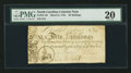 Colonial Notes:North Carolina, North Carolina March 9, 1754 40s PMG Very Fine 20.. ...