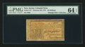 Colonial Notes:New Jersey, New Jersey February 20, 1776 30s PMG Choice Uncirculated 64 EPQ.....