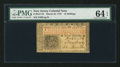 Colonial Notes:New Jersey, New Jersey March 25, 1776 12s PMG Choice Uncirculated 64 EPQ.. ...