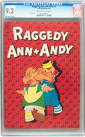 Golden Age (1938-1955):Cartoon Character, Raggedy Ann and Andy #1 (Dell, 1946) CGC NM- 9.2 Off-white to white pages....