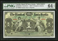 Canadian Currency: , Kingston, Jamaica- The Bank of Nova Scotia £1 January 2, 1900 Ch. #550-38-02-02S Specimen. ...