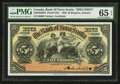 Canadian Currency: , Kingston, Jamaica- The Bank of Nova Scotia £5 January 2, 1920 Ch. # 550-38-02-08S Specimen. ...