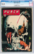 Golden Age (1938-1955):Crime, Punch Comics #12 (Chesler, 1945) CGC GD+ 2.5 Cream to off-white pages....