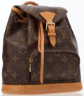 Luxury Accessories:Bags, Louis Vuitton Classic Monogram Canvas Mini Montsouris Backpack Bag. ...
