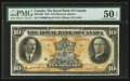 Canadian Currency: , Montreal, PQ- The Royal Bank of Canada $10 Jan. 2, 1927 Ch. #630-14-08. ...