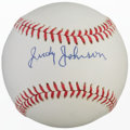 Autographs:Baseballs, Judy Johnson High Grade Single Signed Baseball....