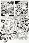 Original Comic Art:Panel Pages, Steve Rude and Bill Reinhold Legends of the DC Universe #14 Page 3 Original Art (DC, 1999)....