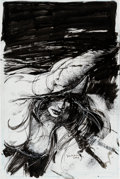 Original Comic Art:Covers, Bill Sienkiewicz Elektra Unpublished Book Cover Original Art (Unpublished, 2003)....