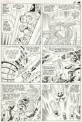 "Original Comic Art:Panel Pages, Jack Kirby and Chic Stone Fantastic Four #31 ""The Mad Menace of the Macabre Mole Man!"" Page 9 Original Art (Marvel..."