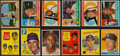 Baseball Cards:Lots, 1950's-1960's Baseball Stars and Hall of Famers Card Collection(12) With '58 Topps Mantle. ...