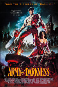 """Army of Darkness (Universal, 1992). One Sheet (26.75"""" X 39.75"""") SS. Horror"""