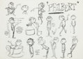 animation art:Model Sheet, Philbert Animation Model Sheet (Warner Bros, 1963)....
