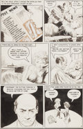 "Original Comic Art:Panel Pages, Frank Frazetta Personal Love #24 ""A Love of My Own"" Page 7Original Art (Eastern Color, 1953)...."