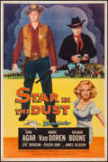 "Movie Posters:Western, Star in the Dust & Other Lot (Universal International, 1956). Posters (2) (40"" X 60"") Style Y & Z. Western.. ... (Total: 2 Items)"